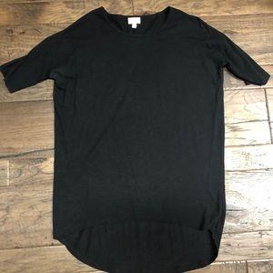 XXS black LuLaRoe Irma Shirt